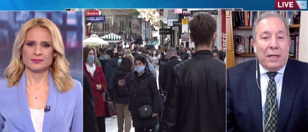 Κορονοϊός -Μακρής στον ΑΝΤ1: Ασφαλείς οι αγορές στα εμπορικά κέντρα