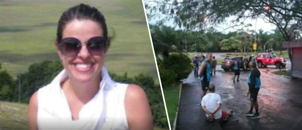 Σκότωσε την πρώην του μπροστά στις κόρες τους (βίντεο)
