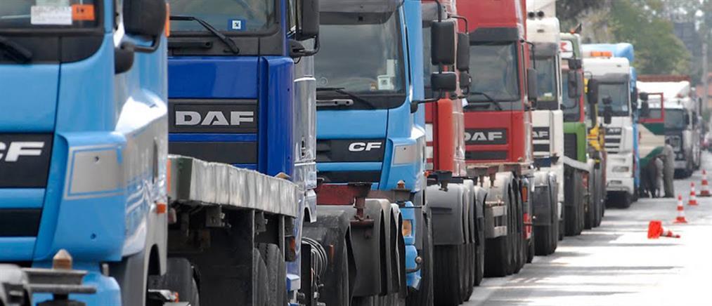 """Κακοκαιρία """"Ηφαιστίων"""": νέες οδηγίες για την κυκλοφορία των φορτηγών"""