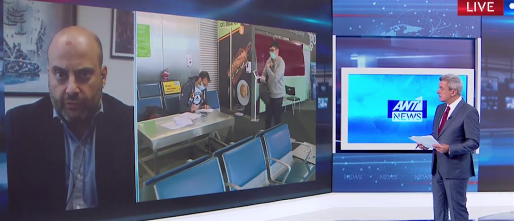 Κορονοϊός - Μπίνης στον ΑΝΤ1: νέο σχέδιο για ελέγχους και πρόστιμα (βίντεο)