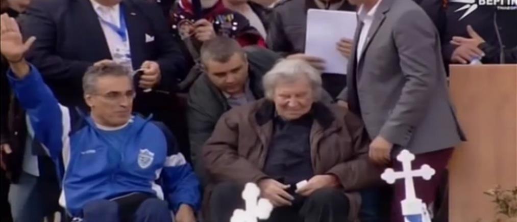 """Ο πρώην πρόεδρος των Παραολυμπιονικών στον ΑΝΤ1 για τον """"ναζιστικό χαιρετισμό"""" (βίντεο)"""