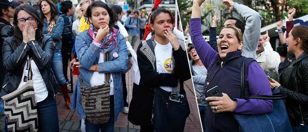 Απέρριψαν την ειρηνευτική συμφωνία οι Κολομβιανοί