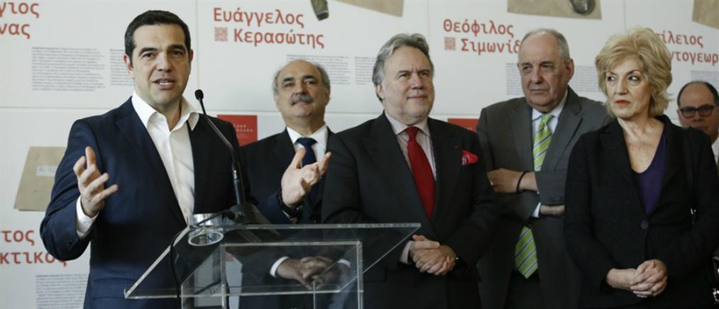 Τσίπρας: να σηκώσουμε την Ελλάδα μια θέση πιο ψηλά