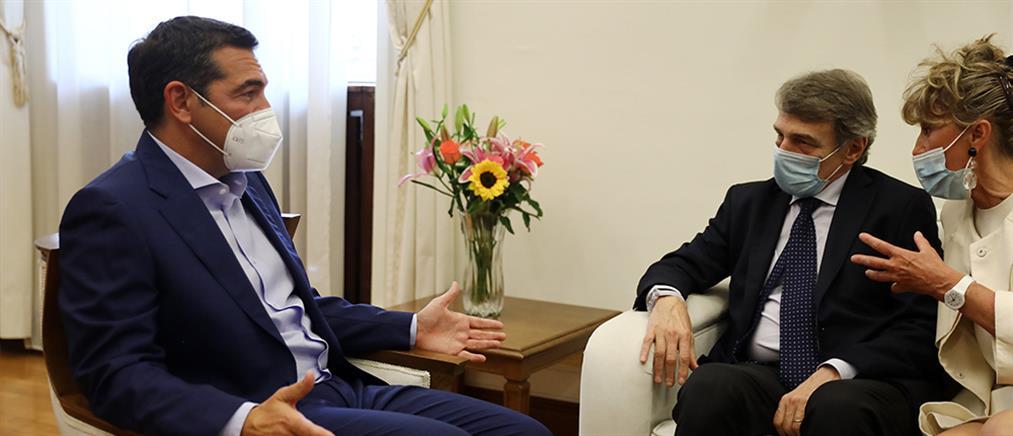 """Τσίπρας – Σασόλι: Ανάγκη για """"αλλαγές"""" στη λειτουργία της ΕΕ"""