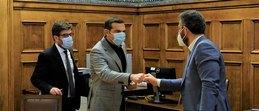 Συνάντηση Τσίπρα με την Ένωση Δικαστών και Εισαγγελέων