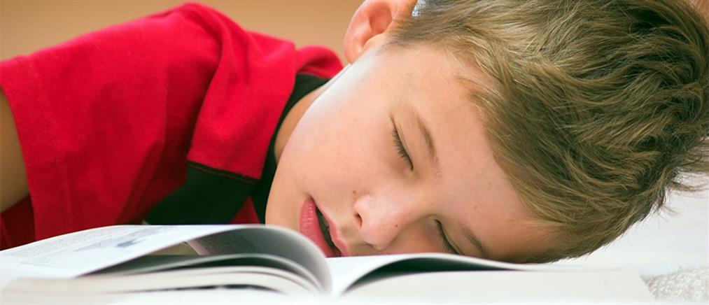 Τα παιδιά που ροχαλίζουν έχουν χειρότερους βαθμούς στο σχολείο