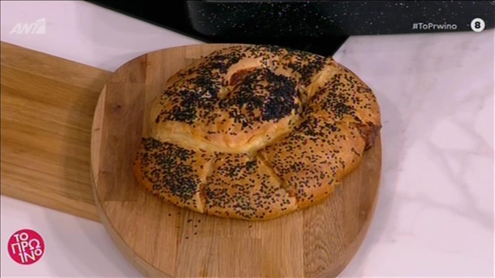Τυρόπιτα με τραγανό φύλλο και τέσσερα τυριά από τον Βασίλη Καλλίδη