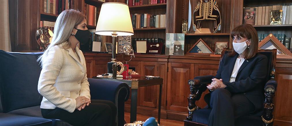 Σακελλαροπούλου: Το Κυπριακό είναι κορυφαία εθνική προτεραιότητα