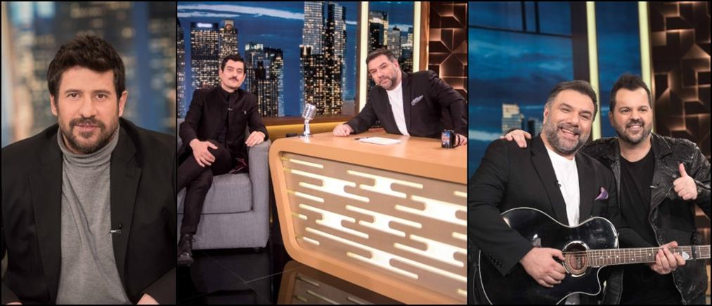 """The 2Night Show"": αντρική υπόθεση η εκπομπή της Τετάρτης (εικόνες)"