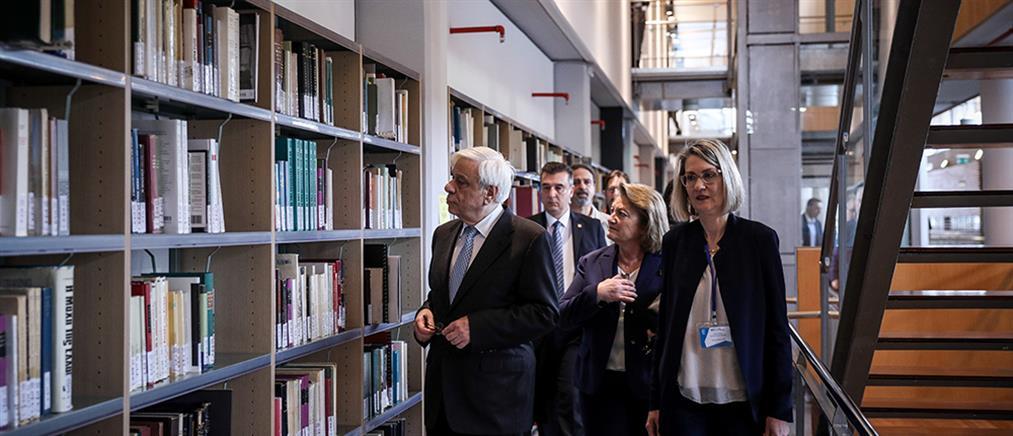 Εγκαίνια της Βιβλιοθήκης της Φιλοσοφικής Σχολής (εικόνες)