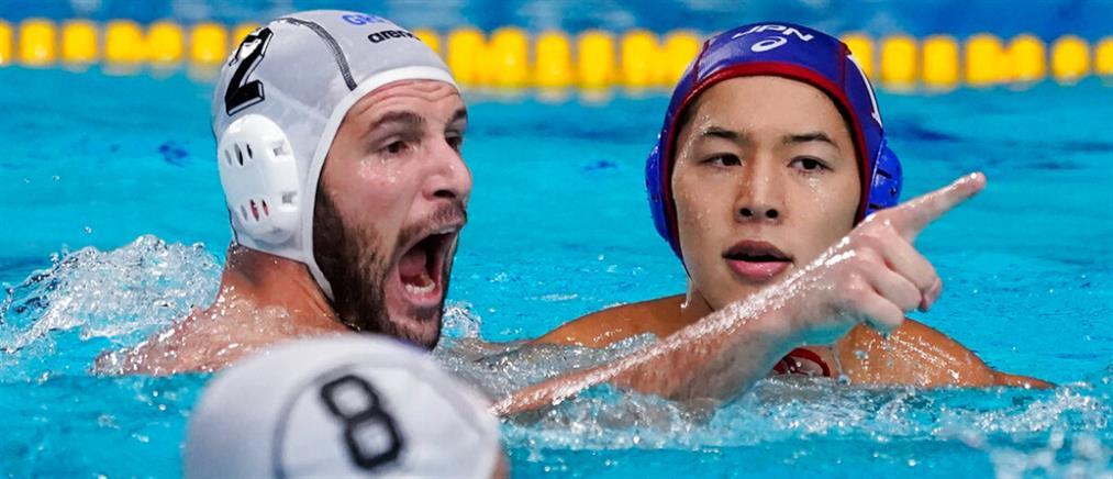 """Ολυμπιακοί Αγώνες - Πόλο Ανδρών: Στους """"8"""" μετά τη νίκη επί της Ιαπωνίας"""