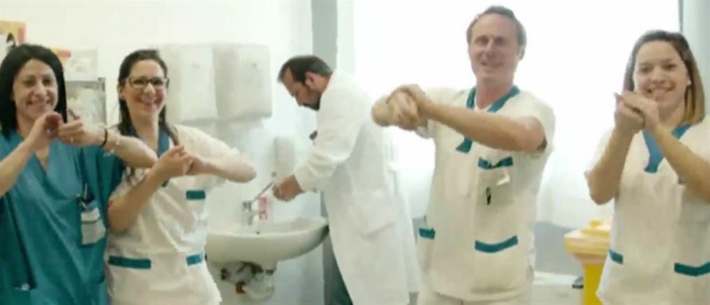 Viral έχουν γίνει τα τραγούδια για τον κορονοϊό (βίντεο)