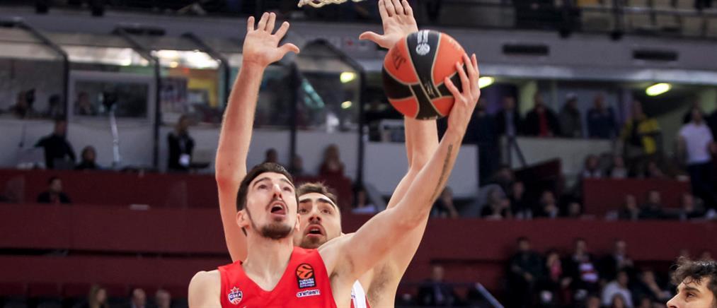 Euroleague: πέμπτη συνεχόμενη ήττα για τον Ολυμπιακό