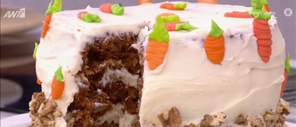 Carrot cake από τον Πέτρο Συρίγο