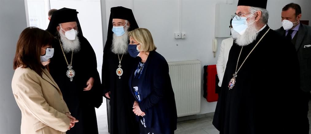 Σακελλαροπούλου – Ιερώνυμος: επισκέφθηκαν δομή φιλοξενίας ανηλίκων  προσφύγων