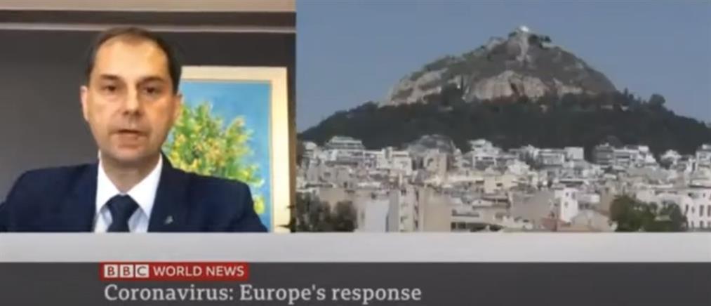 Θεοχάρης στο BBC: Θα διαφυλάξουμε την υγεία του πληθυσμού και των επισκεπτών