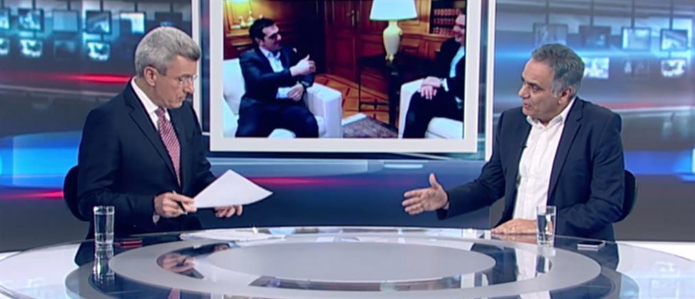 """Σκουρλέτης στον ΑΝΤ1: """"πρόβλημα"""" ο Καμμένος - υπάρχει απόλυτη πλειοψηφία για να συνεχίσει η Κυβέρνηση και χωρίς τους ΑΝΕΛ"""