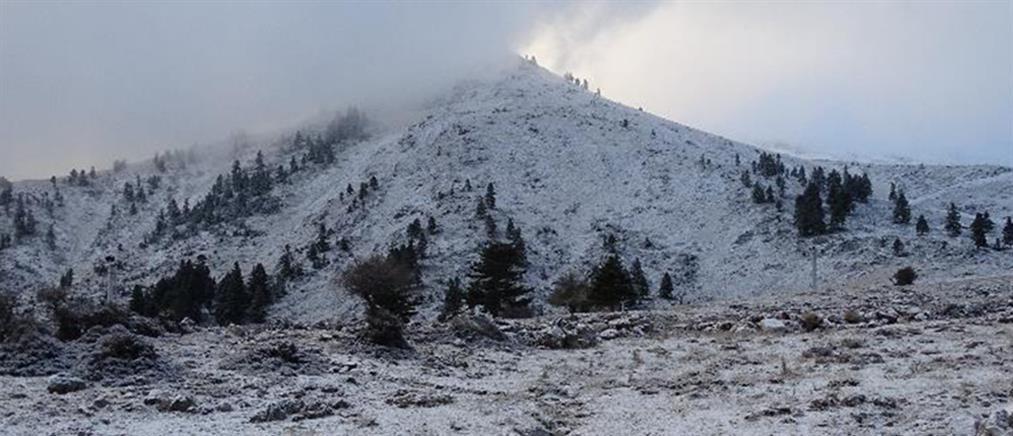 Καλάβρυτα: έπεσαν τα πρώτα χιόνια! (εικόνες)