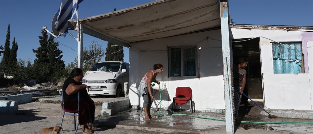 Κορονοϊός - Χαλάνδρι: Αυστηρό lockdown σε οικισμό Ρομά, στο Νομισματοκοπείο