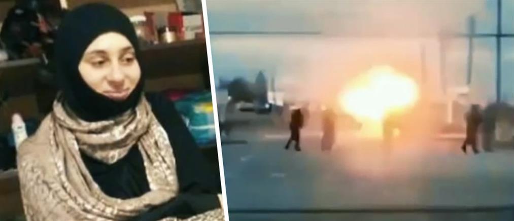 """Η στιγμή που γυναίκα """"καμικάζι"""" ανατινάζεται έξω από αστυνομικό τμήμα (βίντεο)"""