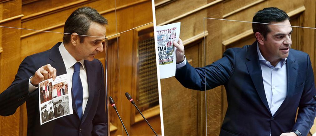 Βουλή: σκληρή κόντρα αρχηγών για Λιγνάδη και Μενδώνη