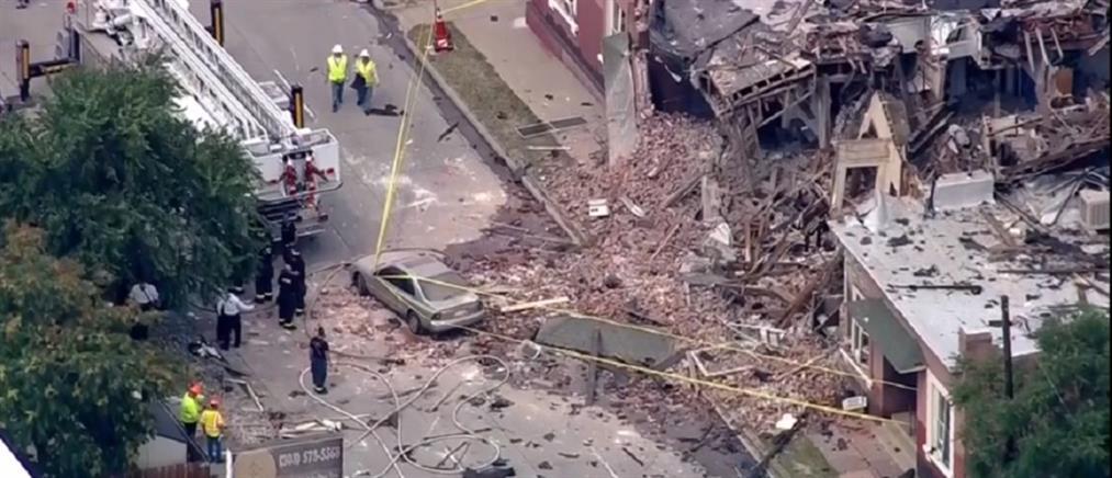Έκρηξη ισοπέδωσε κτήριο (βίντεο)