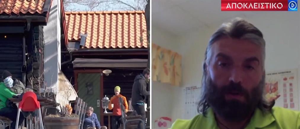 Ιωακείμ Φωκάς: Ο τραγουδιστής που έγινε γιατρός στη Σουηδία μιλά στον ΑΝΤ1 (βίντεο)