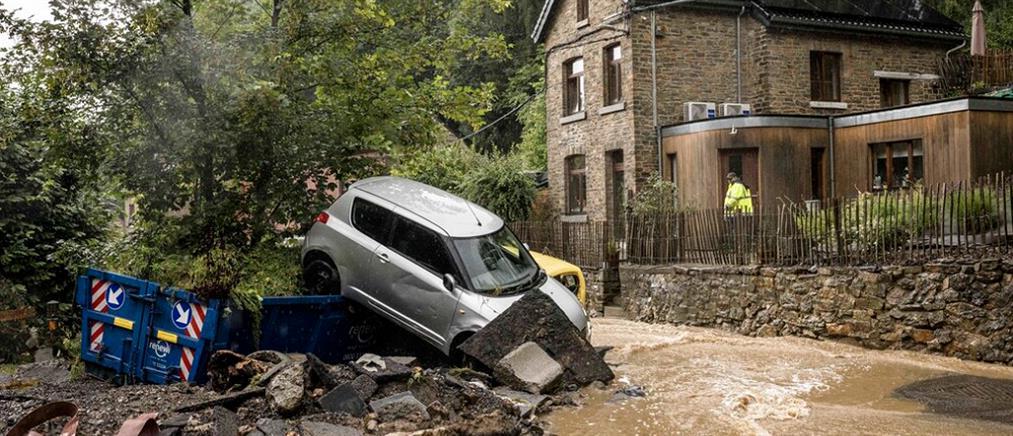 Βέλγιο - πλημμύρες: μετρούν νεκρούς και καταστροφές οι κάτοικοι