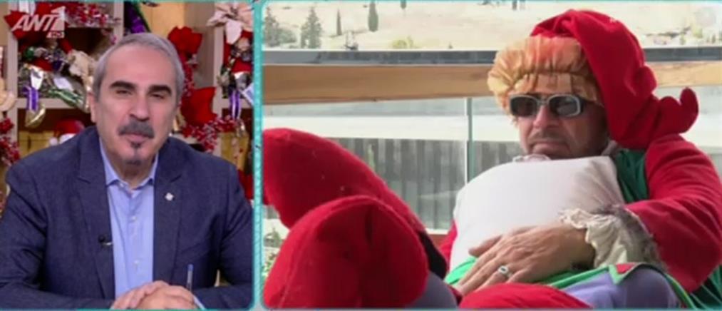Το ξεκαρδιστικό χριστουγεννιάτικο σκετς του Ζουγανέλη (βίντεο)