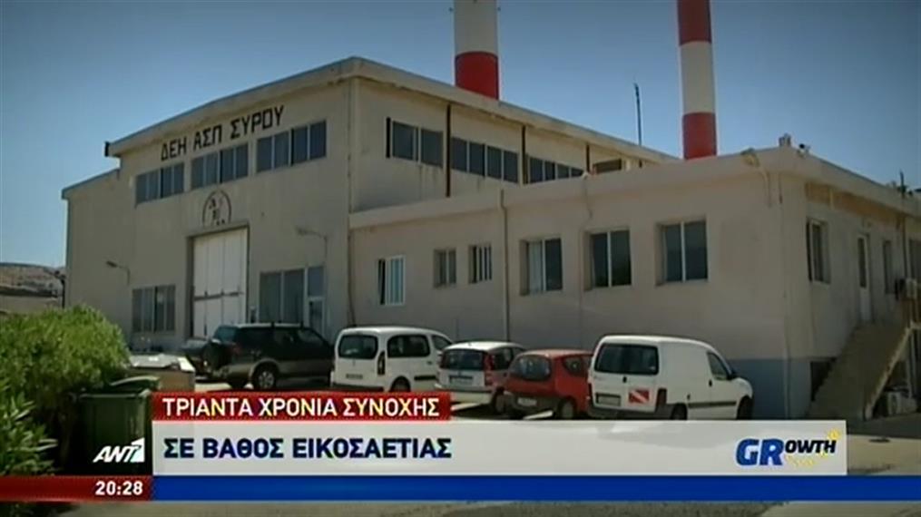 Ρεύμα με υποβρύχια καλώδια στα νησιά του Αιγαίου