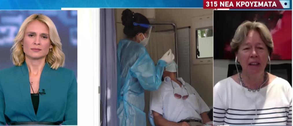 Κορονοϊός - Λινού στον ΑΝΤ1: χρειάζονται πιο τολμηρά μέτρα (βίντεο)