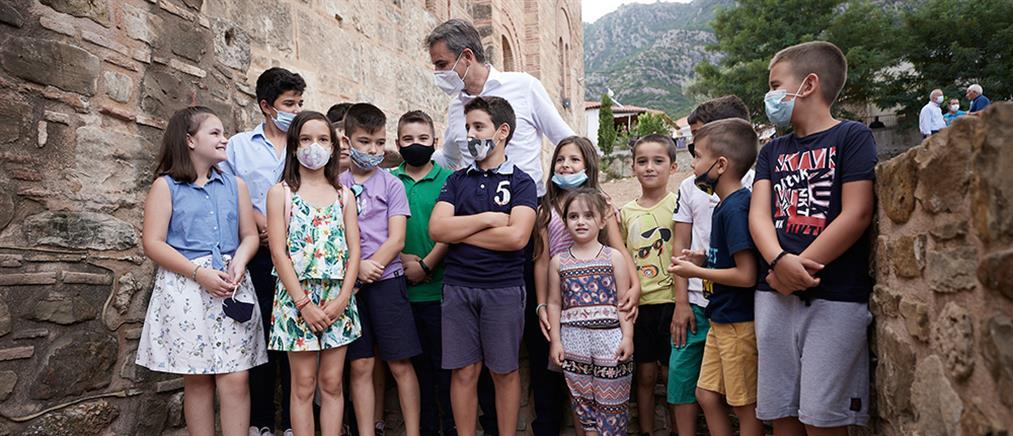 Μητσοτάκης - Εμβολιασμοί: ανοίγει η πλατφόρμα για παιδιά 12 ετών και άνω