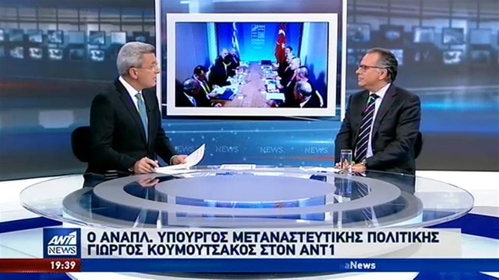 Κουμουτσάκος στον ΑΝΤ1: ανυπόστατη και παράνομη η συμφωνία Τουρκίας-Λιβύης