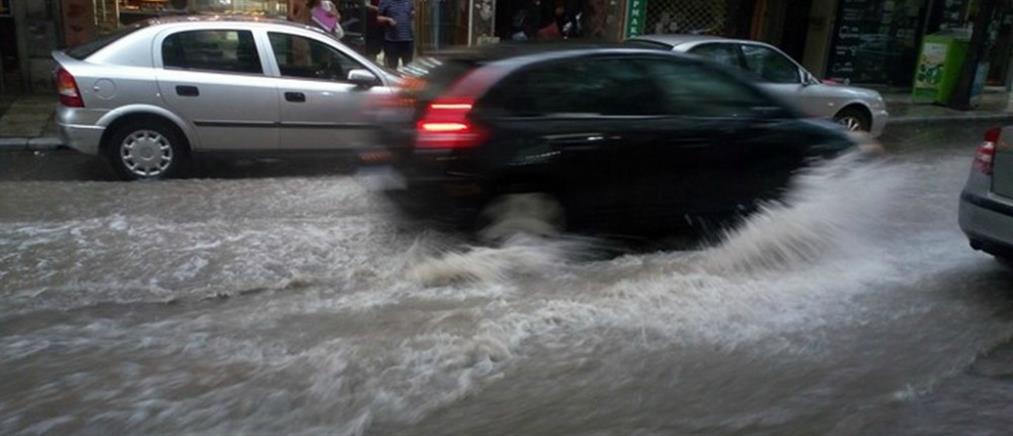 Προβλήματα από την βροχόπτωση στην Αττική