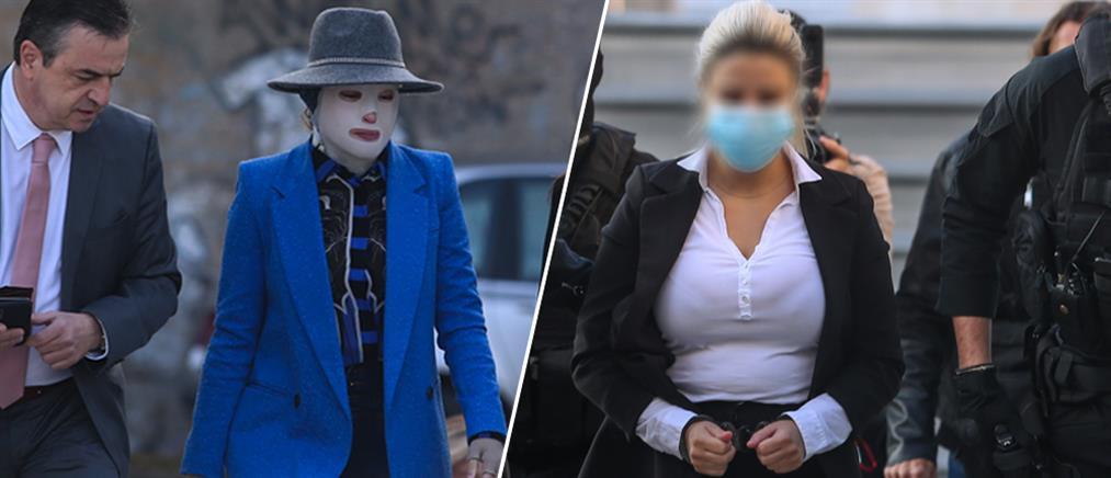 Επίθεση με βιτριόλι: Η Ιωάννα και η κατηγορούμενη στο δικαστήριο για την πρόταση του εισαγγελέα (εικόνες)