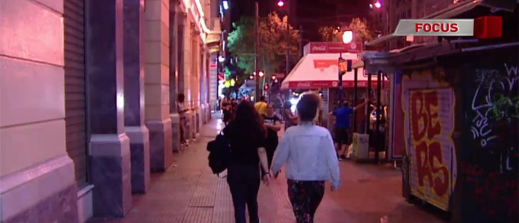 Έρευνα ΑΝΤ1: Φόβος στις γειτονιές της Αθήνας μόλις πέσει το σκοτάδι (βίντεο)