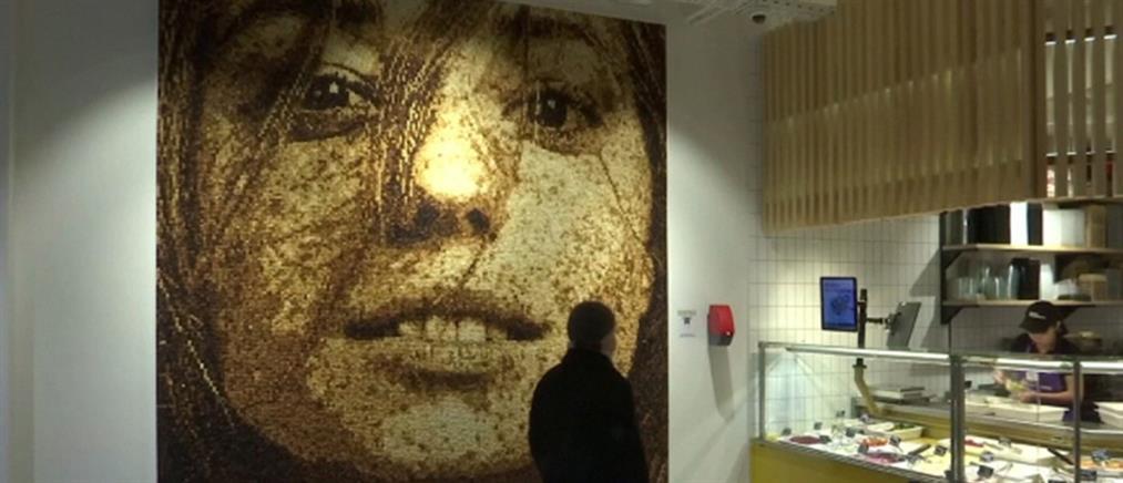 Εντυπωσιακό πορτρέτο από…ψωμί (βίντεο)