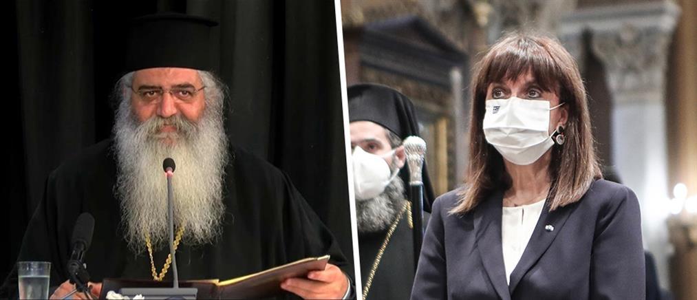 Μητροπολίτης Μόρφου κατά Σακελλαροπούλου για τον Σταυρό