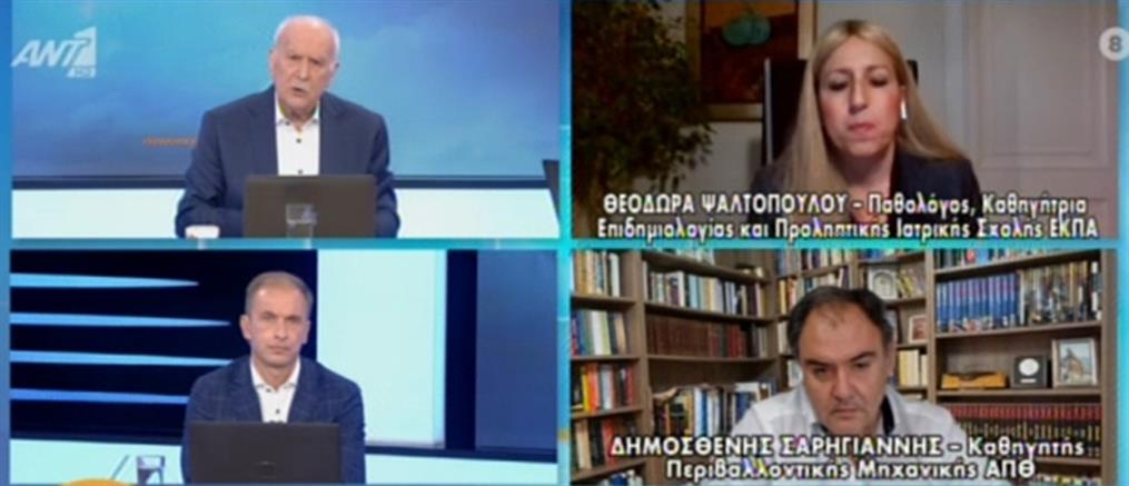 Κορονοϊός - 28η Οκτωβρίου: Οι εμβολιασμοί θα κρίνουν τις παρελάσεις λένε οι ειδικοί στον ΑΝΤ1 (βίντεο)