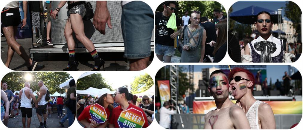 Athens Pride 2019: Μια γιορτή για την ισότητα στην μνήμη του Ζακ Κωστόπουλου (εικόνες)