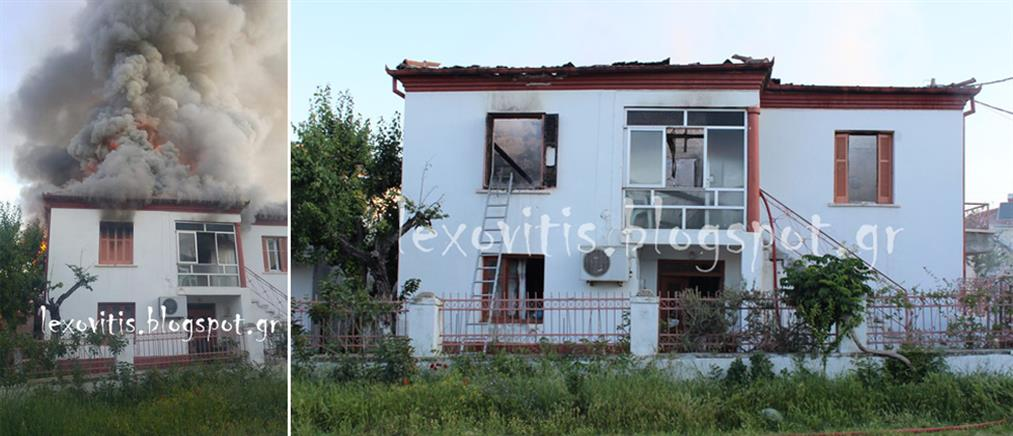 Φρικτός θάνατος ηλικιωμένης μέσα στο φλεγόμενο σπίτι της (εικόνες)