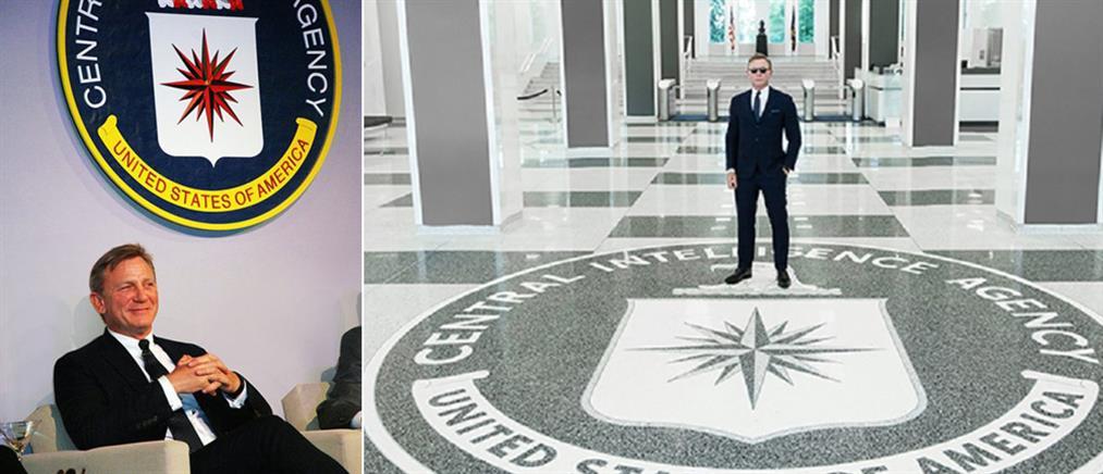 Η CIA φιλοξένησε τον Ντάνιελ Κρεγκ στα άδυτα του Λάνγκλεϊ