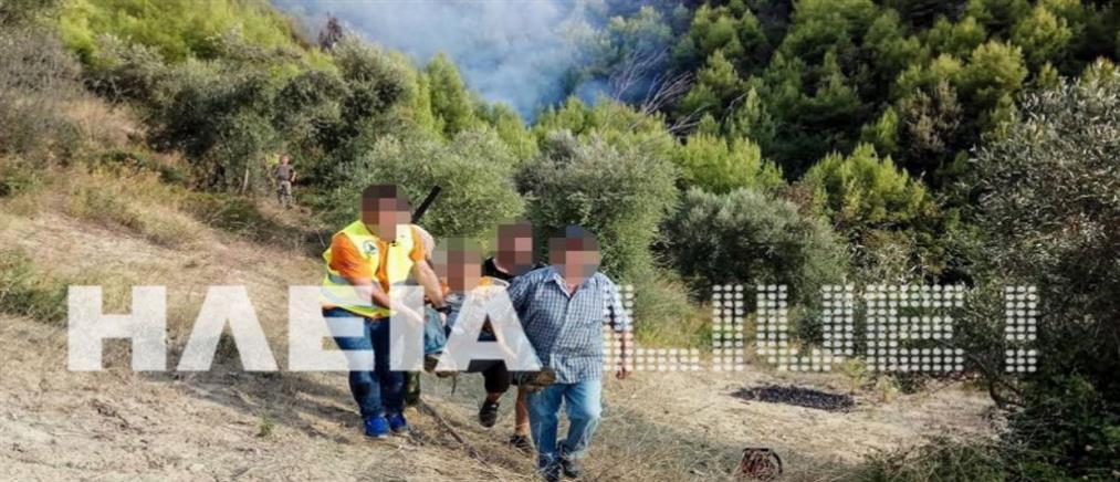 Έβαλε φωτιά για να… τον εντοπίσουν και κάηκε δάσος