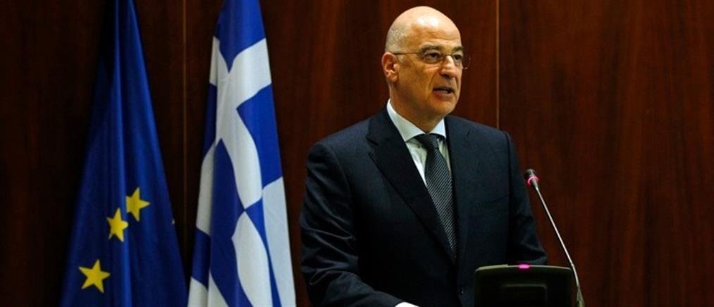 Δένδιας: η Ελλάδα έχει ρόλο και λόγο στη διαδικασία για τη Λιβύη