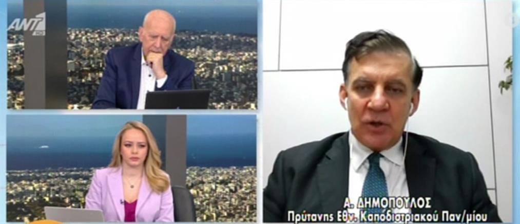 Δημόπουλος στον ΑΝΤ1: Δεν βοήθησε το κρύο για τα κρούσματα