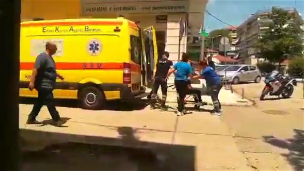 Επίθεση με τσεκούρι στην Κοζάνη