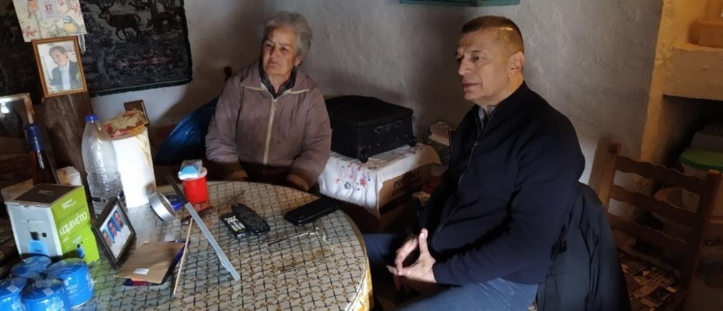 Κίναρος: Την κυρά - Ρηνιώ επισκέφθηκε ο Αλκιβιάδης Στεφανής (εικόνες)
