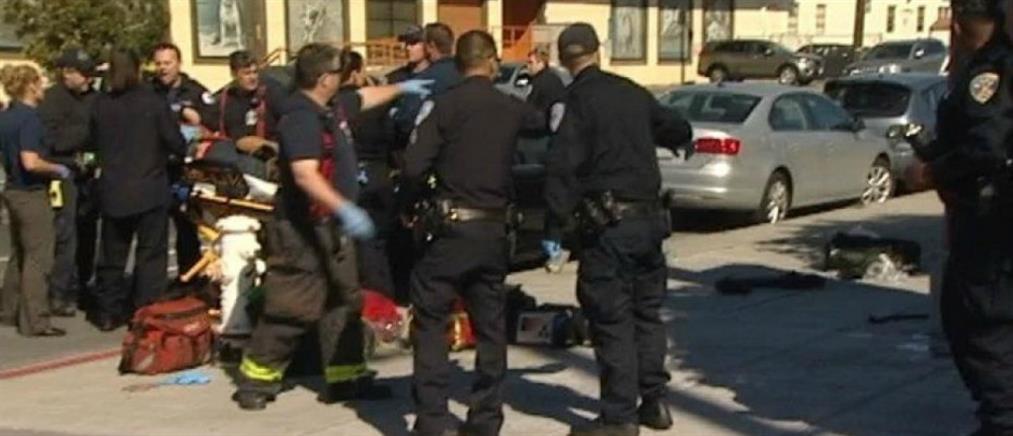 Αυτοκίνητο έπεσε πάνω σε πεζούς στο Σαν Φρανσίσκο