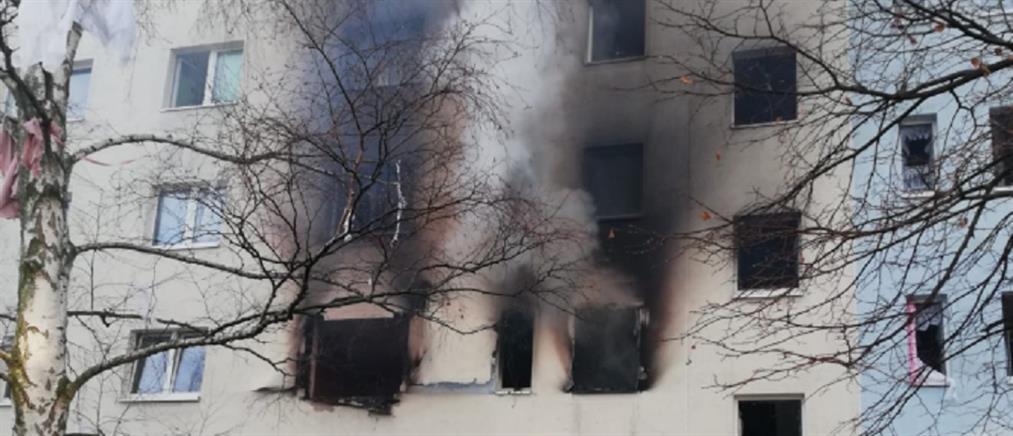 Έκρηξη σε συγκρότημα κατοικιών στη Γερμανία