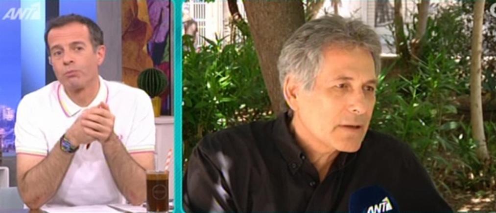 """Αποχώρησε ο Θάνος Καληώρας από το """"Κλουβί με τις Τρελές"""" (βίντεο)"""